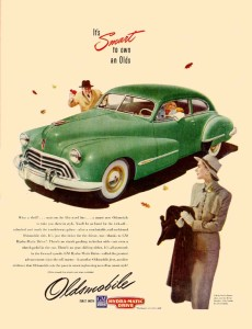 Oldsmobile 1947 Coupe