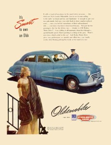 Oldsmobile 1947 4dr Sedan
