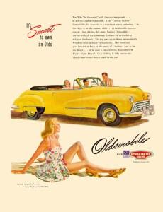 Oldsmobile 1947 Convertible