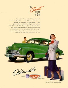 Oldsmobile 1947 Fastback Coupe