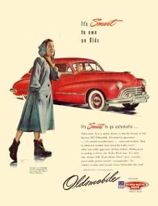 Oldsmobile 1947 4dr Sedan