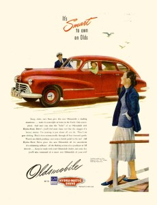 Oldsmobile 1947 4dr Fastback Sedan