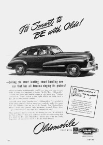 Oldsmobile 1947 4dr Fastback Sedan