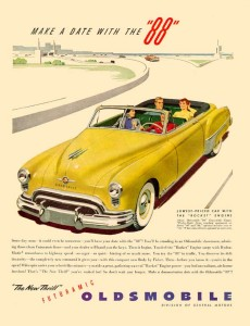 Oldsmobile 1949 Convertible