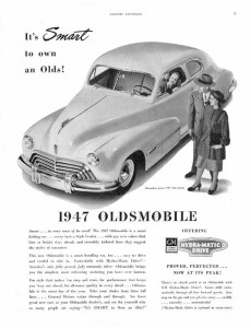 Oldsmobile 1947 2dr Sedan