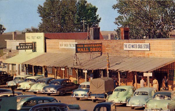 Wall Drug Store Wall SD 1953