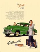 Oldsmobile 1956 Ad