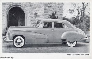 1947 Oldsmobile Four Door Sedan