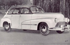 1946 Oldsmobile 4Dr Sedan