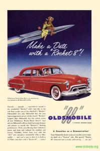 Oldsmobile 1950 Ad