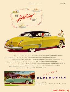 Oldsmobile 1949 Ad