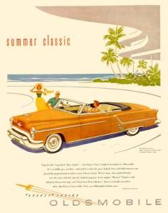 Oldsmobile 1953 Ad