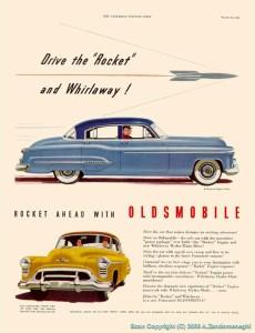 1951 Oldsmobile Ad