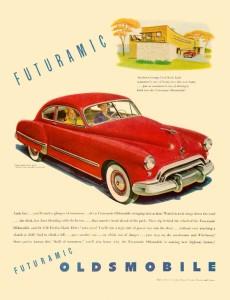 Oldsmobile 1948 Ad