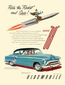 Oldsmobile 1951 Ad